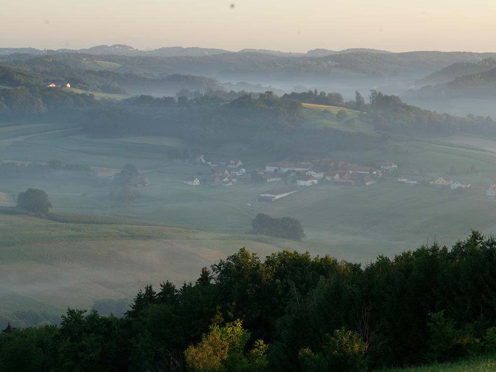 Raab, Blick vom Stadelberg nach Kapfenberg